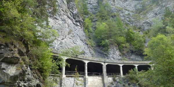 Bahnstrecke nach Arosa