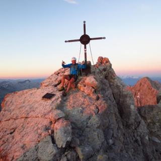Watzmann - Mittelspitze ( 2713 m )