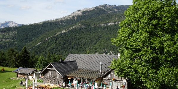 Der Berggasthof Hoisenrad Alm