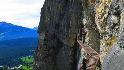 Klettersteig Ostschweiz : Der fürenwand klettersteig c d ein heißer ritt auf steilem fels