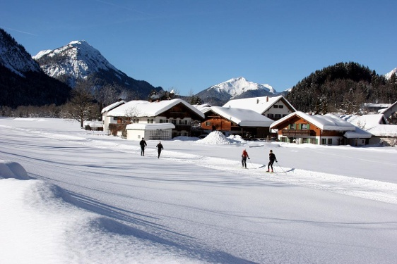 Cross-country ski route – Graswang tour