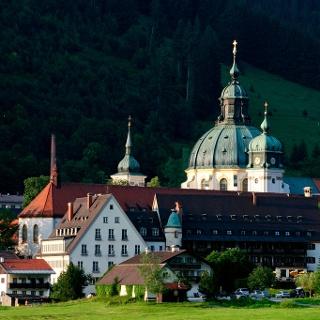 Fernwanderweg Meditationsweg Ammergauer Alpen - Kloster Ettal