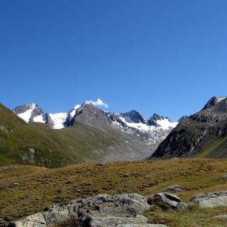 Panorama aus Hochfirst, Liebener Spitze und Heuflerkogel