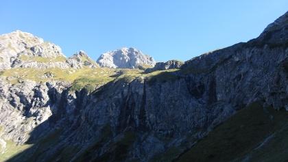 Blick zum Glattjöchle und Hohen Künzelspitze