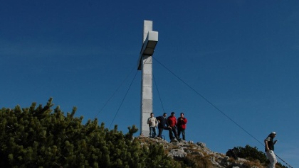 Traunstein - Gipfelkreuz