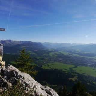 Am Gipfel des Burgberger Hörnle
