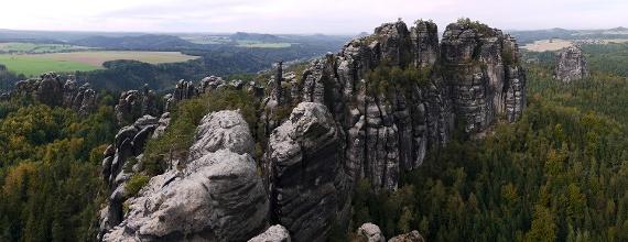 Foto Schrammsteinaussicht