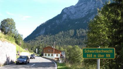 Die Passhöhe der Schwarzbachwacht.