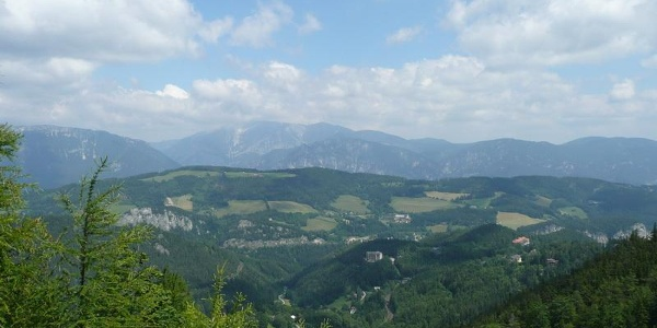 Blick auf Breitenstein