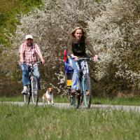 Unterweg mit dem Bike