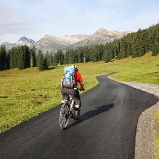 Mit dem Bike zum Älpele