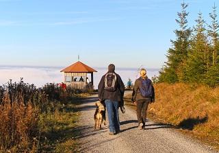 Von Dobel über die Schweizerkopfhütte nach Bad Herrenalb