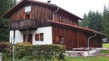 Vogtlandhütte - Weg vom Parkplatz Sendemast zur DAV Selbstversorgerhütte bei Schöneck