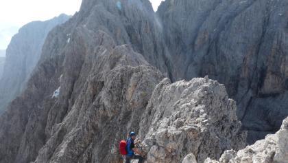 Klettersteig Rosengarten : Die schönsten klettersteige in tiers