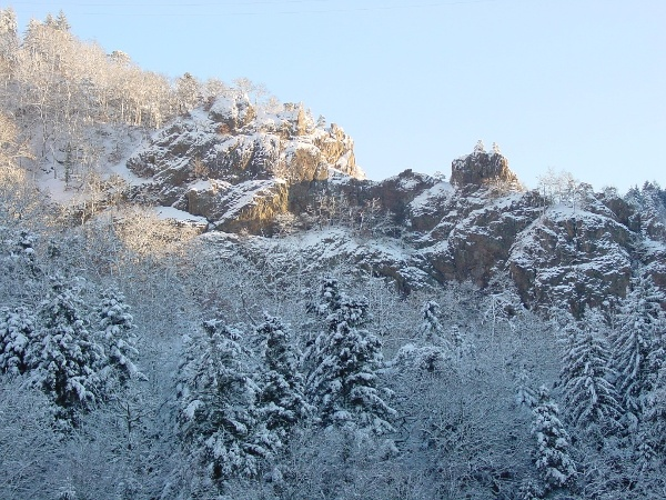 Schlüchttal-Trail - Schneeschuhtour durch das romantisch beschneite Schlüchttal