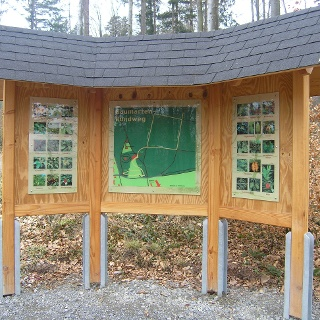 Baumgartenrundwanderweg Informationstafel