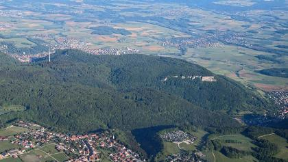 Luftbild Rosenstein