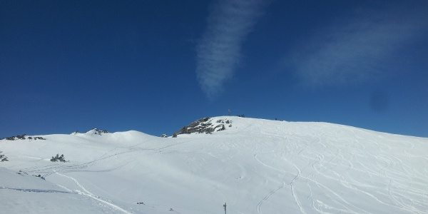 Das letzte Stück vor dem Gipfel