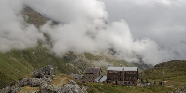 Essener-Rostocker Hütte Nordansicht