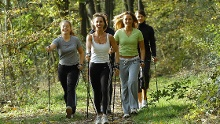 Nordic-Walking-Tour Montabaur- Trimmpfad-Route