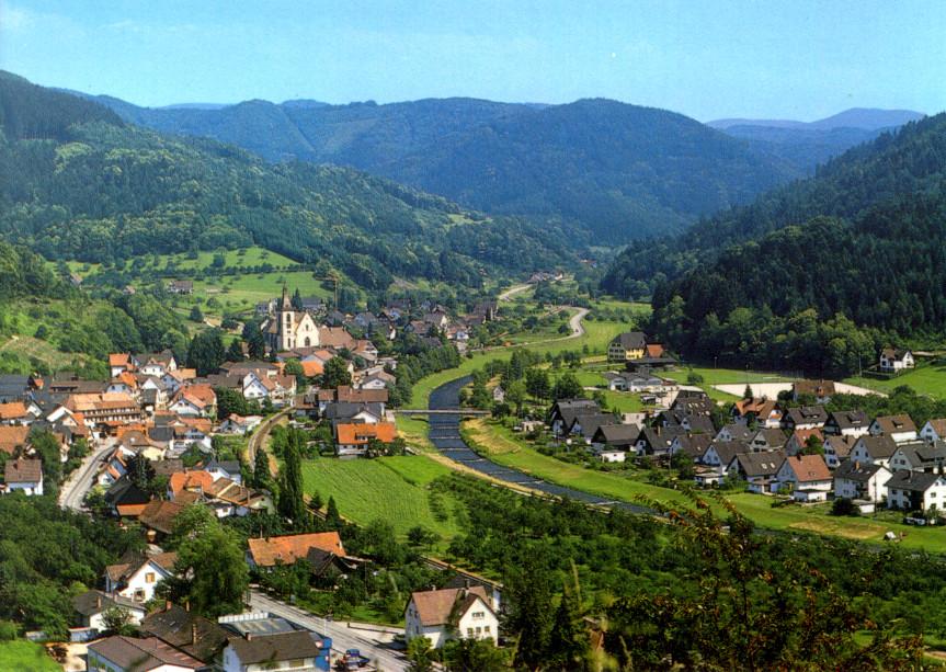 Lautenbach Ortsansicht