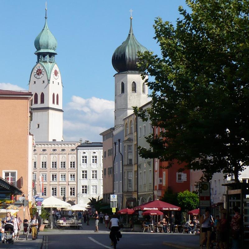 Mozart-Radweg Etappe 11: Rosenheim am Inn - Niederndorf