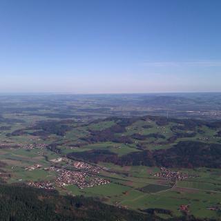 Panoramablick vom Gipfel aus
