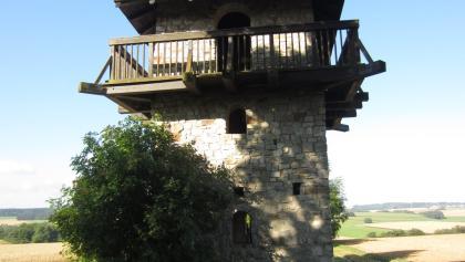 Römischer Wachturm bei Niedersohren (Aug. 2013)