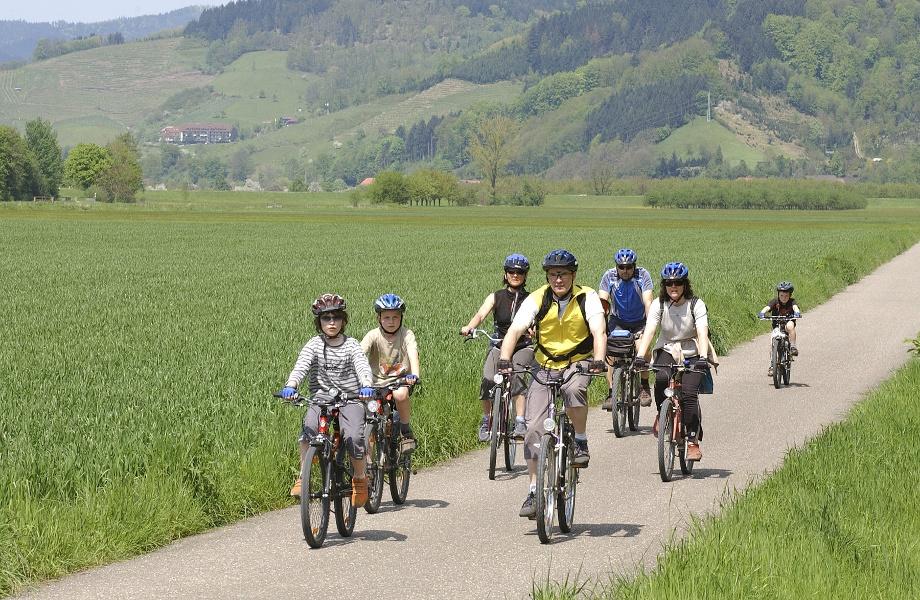Kinzigtal-Radweg - Oberharmersbach - Zell a. H.  - Biberach (Baden)