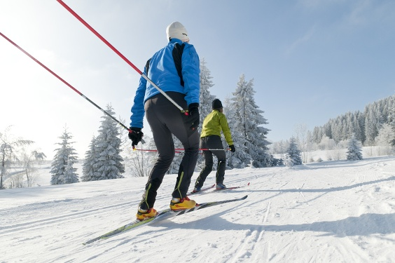 Cross country ski trail – Buchwald route
