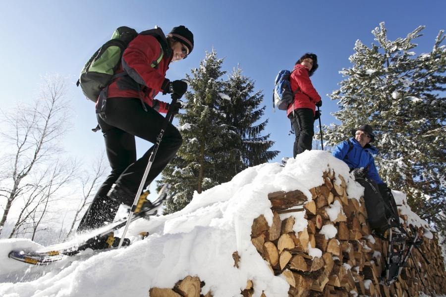 Hirtenpfad in herrlichem Weiß - Schneeschuhtrail
