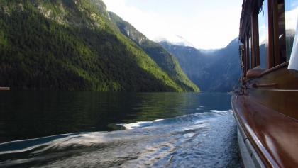 Überfahrt über den Königssee