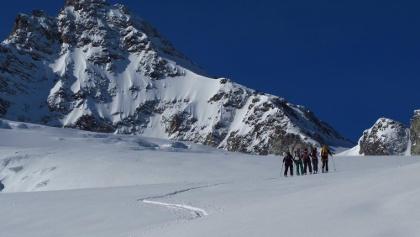 Dreiländerspitze Skidurchquerung Silvretta