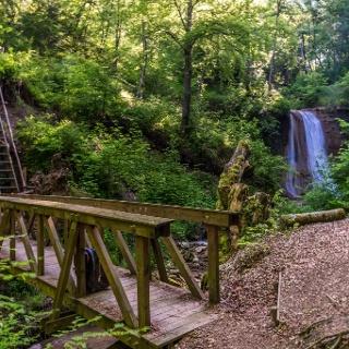 Schleifenbach Wasserfall