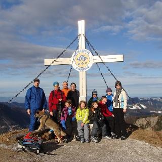 Tirolerkogel, 1377 m bei Sonnenschein