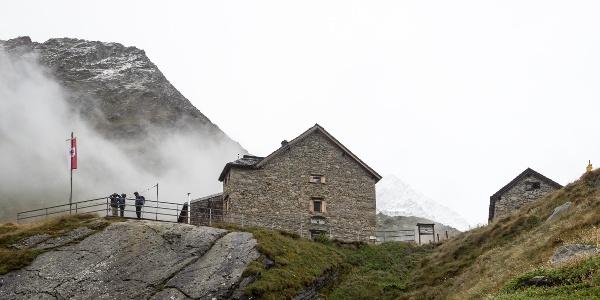 Rostocker Hütte und Winterhaus