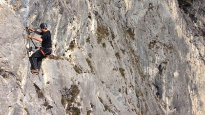 Klettern am Kaiser Max-Steig