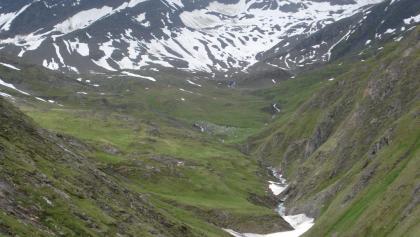 Das Tal öffnet sich