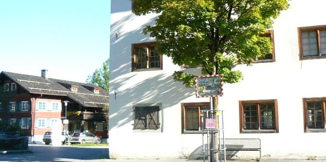 """Nenzing """"Altes Gemeindeamt"""" und """"Rotes Haus"""