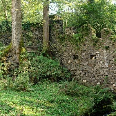 Ruine im Park - Schloss Damtschach