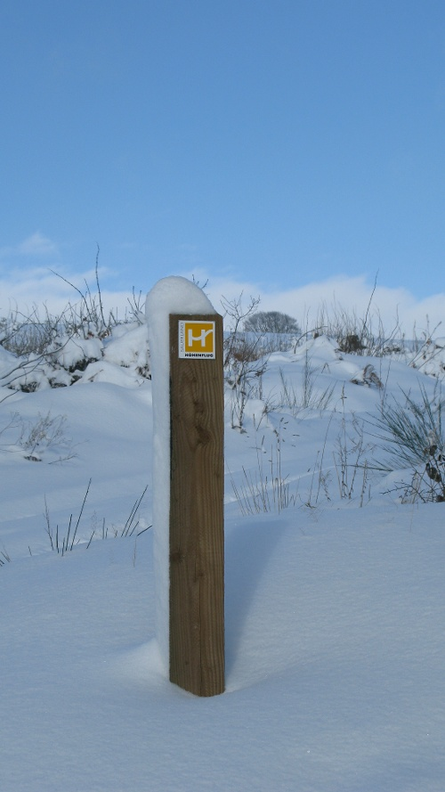 Auf den Walderlebnispfaden rund um Neuenrade: Winterwanderung auf dem Sauerland-Höhenflug