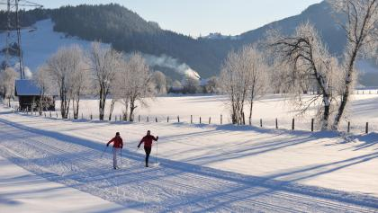cross-country skiing towards Radstadt