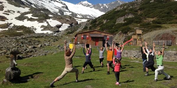 Yoga Energieplatz Sulzenauhütte