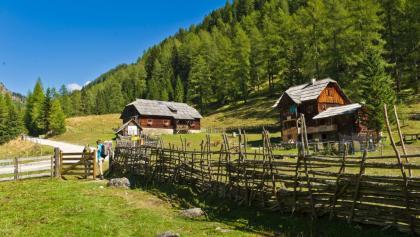 Bewirtschaftete Hütten im Langalmtal
