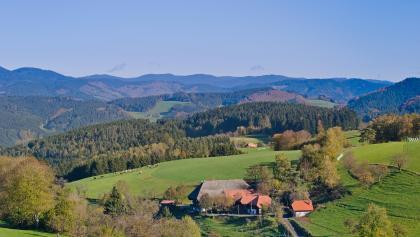 Ausblick in der Nähe des Heidburg-Passes