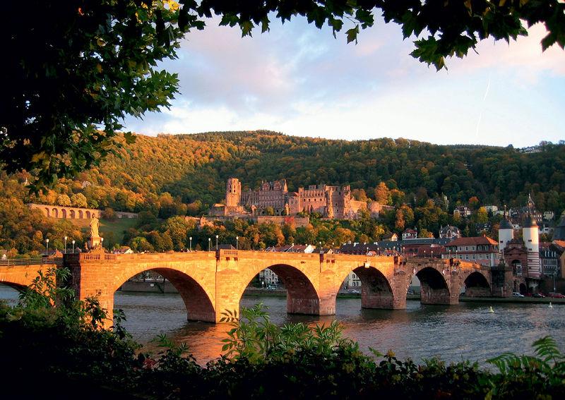 Heidelberg-Schwarzwald-Bodensee-Radweg - Etappe 1