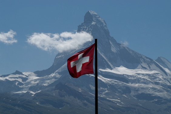 View of the Matterhorn (4,478 m)