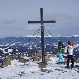 Gipfelkreuz auf dem Geierkogel