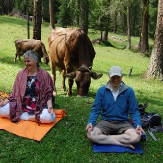 Yoga Energieplatz Erlebnisweg Schlick 2000