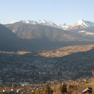 Der Blick auf Brixen - unterhalb von St. Andrä